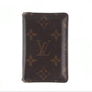Louis Vuitton Monogram Pocket Organizer Wallet